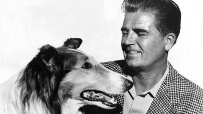 Rudd_Weatherwax_and_Lassie_1955