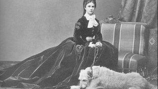 Císařovna Sisi a její pes