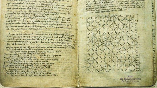 Reichenauerský rukopis, stránka s básní o Pangurovi
