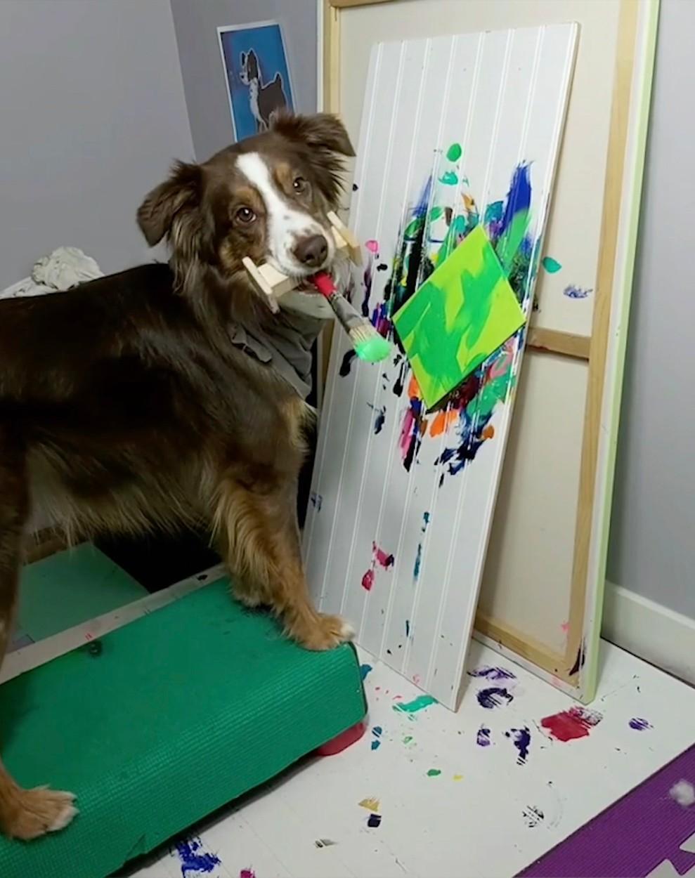 Psí malíř