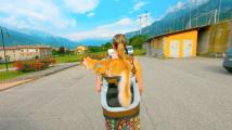 Kočičí cestovatelka