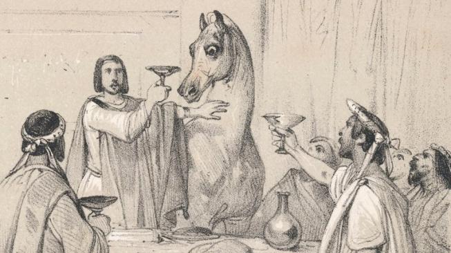 Caligulův Incitatus: Kůň, který se měl stát senátorem